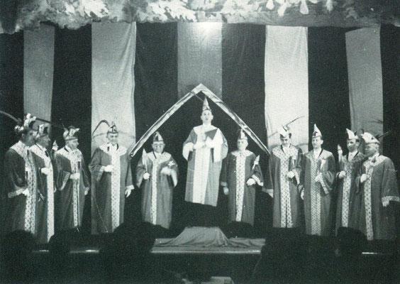 von links nach rechts: G. Kramer, A. Dorn, Fr. Linder, A. Schmid, Th. Gugel, H. Widmer, G. Seyfried, R. Bucher, E. Glatthorn, R. Stahl, Jos. Herrmann