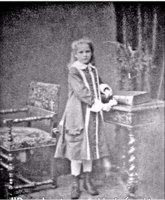 Lucie Malot, photographie de Nadar, 1879