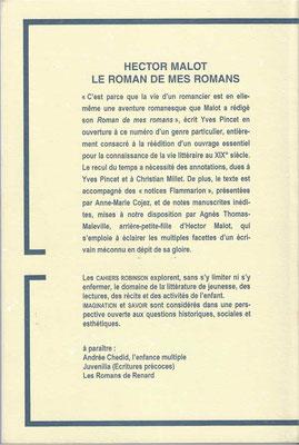 Cahiers Robinson - Année 2003 - Université d'Artois - Arras