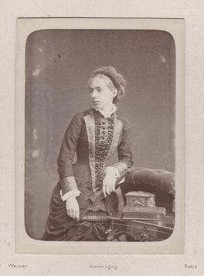 Marthe Malot, photographie de Nadar, 1879