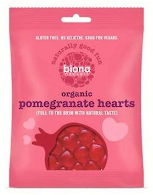 organic Pomegranate Hearts (Biona) 75 g