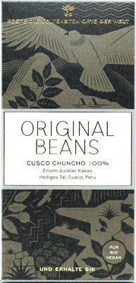 Original Beans Cusco Chuncho 100%
