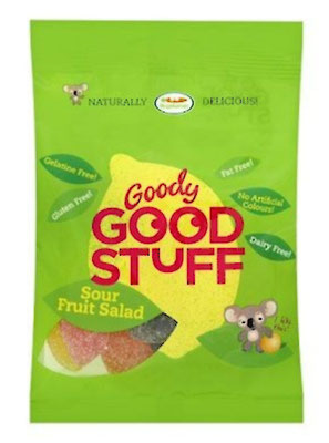 "Fruchtgummi-Salat ""Sour Fruit Salad"" (Goody Good Stuff)"