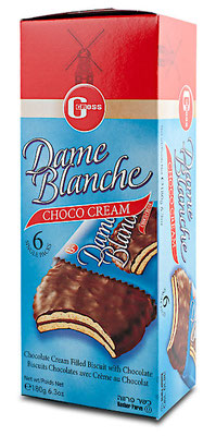 Dame Blanche Schokokekse (Gross)