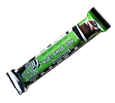 Zero Zebra Bar Reismilch Bar-Peppermint (Marthomi)