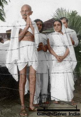 48 - Mahatma Gandhi (Ghandi) - Copyright: GandhiServe India - www.gandhiserveindia.org