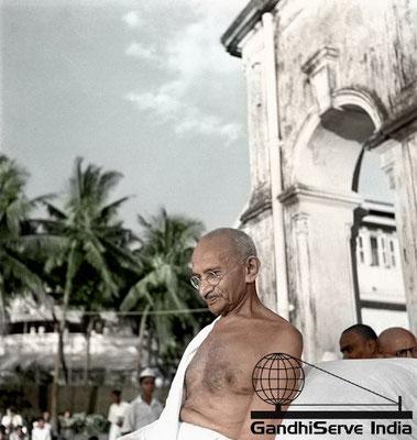 53 - Mahatma Gandhi (Ghandi) - Copyright: GandhiServe India - www.gandhiserveindia.org