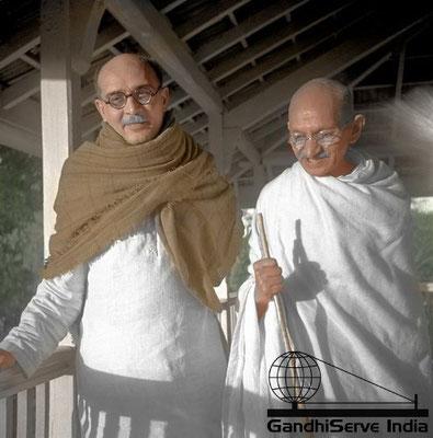37 - Mahatma Gandhi (Ghandi) - Copyright: GandhiServe India - www.gandhiserveindia.org