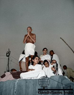 81 - Mahatma Gandhi (Ghandi) - Copyright: GandhiServe India - www.gandhiserveindia.org