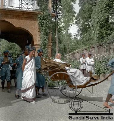 36 - Mahatma Gandhi (Ghandi) - Copyright: GandhiServe India - www.gandhiserveindia.org