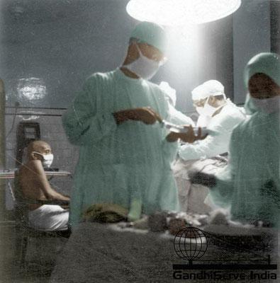 93 - Mahatma Gandhi (Ghandi) - Copyright: GandhiServe India - www.gandhiserveindia.org