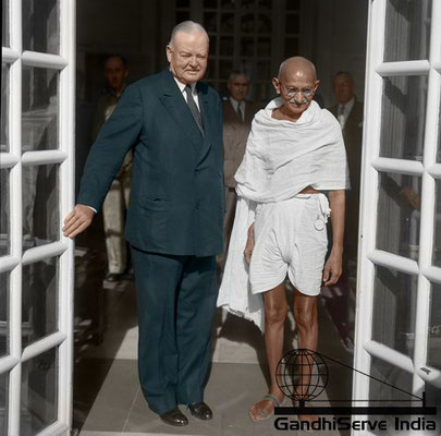 79 - Mahatma Gandhi (Ghandi) - Copyright: GandhiServe India - www.gandhiserveindia.org