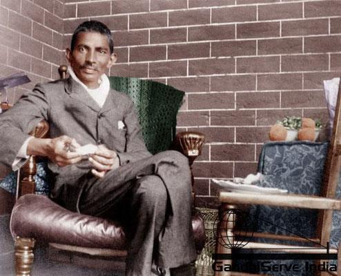 5 - Mahatma Gandhi (Ghandi) - Copyright: GandhiServe India - www.gandhiserveindia.org