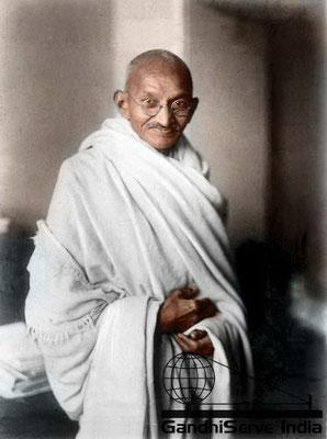 29 - Mahatma Gandhi (Ghandi) - Copyright: GandhiServe India - www.gandhiserveindia.org