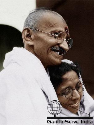 20 - Mahatma Gandhi (Ghandi) - Copyright: GandhiServe India - www.gandhiserveindia.org
