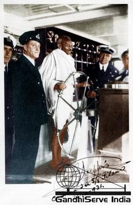27 - Mahatma Gandhi (Ghandi) - Copyright: GandhiServe India - www.gandhiserveindia.org