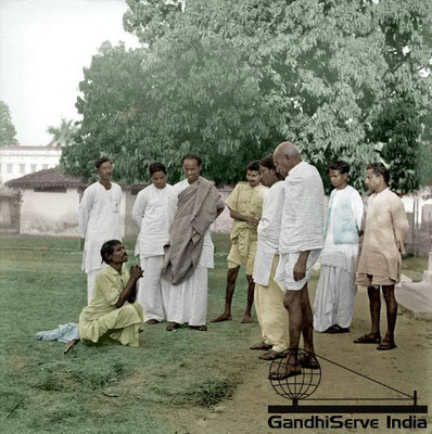 88 - Mahatma Gandhi (Ghandi) - Copyright: GandhiServe India - www.gandhiserveindia.org