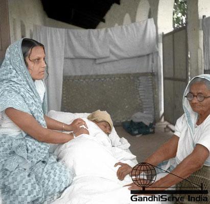 33 - Mahatma Gandhi (Ghandi) - Copyright: GandhiServe India - www.gandhiserveindia.org