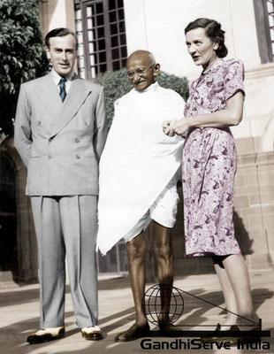 92 - Mahatma Gandhi (Ghandi) - Copyright: GandhiServe India - www.gandhiserveindia.org