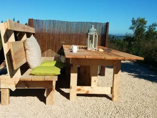 Shoguns Werk ... perfekt für unsere Terrasse
