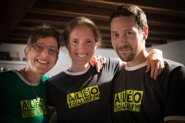 Sandra Thillier, Karine Guilloux et Paul Bonnef (président)
