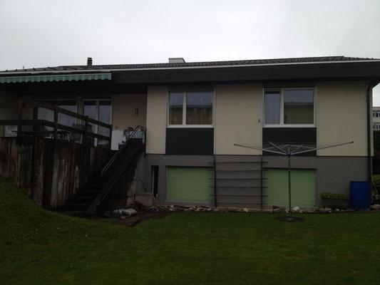 Neue Fassade mit Isolierung VORHER