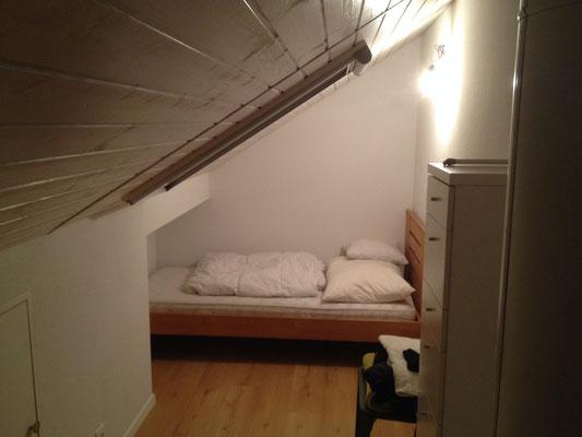 Dachzimmer-Umbau mit Zunahme des Schlupf's NACHHER