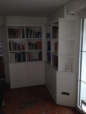 Einbau-Bibliothek NACHHER