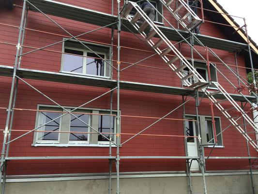 Fassade und Isolierung IN ARBEIT