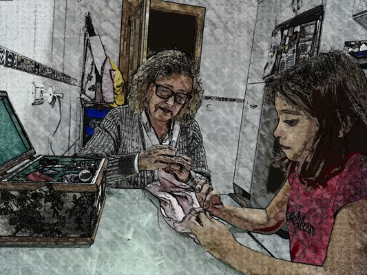 Blanca y Marta Gómez Cuesta