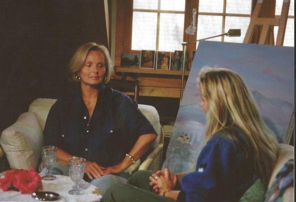 In ihrer damaligen Wohnung in Ermatingen. Ein ganz besonderes Interview, finde ich.
