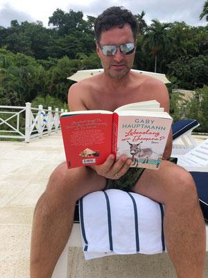 Auch (attraktive) Männer lesen meine Bücher ... :-)