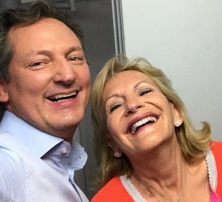 Mit Dr. Ekkehard von Hirschhausen gibt es immer was zu lachen ...