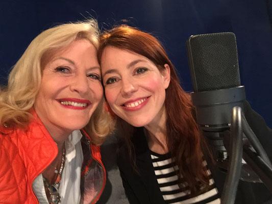 """Wenn der Funke überspringt, macht ein Interview Spaß. So war es mit Nicole Köster, SWR1 in Stuttgart, """"Leute heute"""".s"""