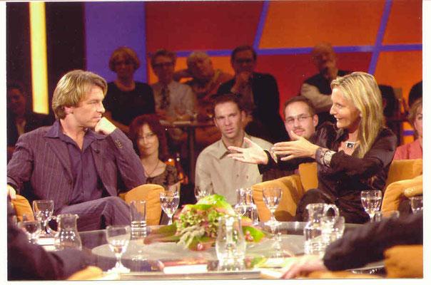 NDR-Talkshow2002 mit Andre Eísermann - der Kontakt besteht bis heute