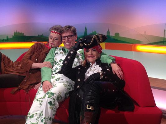 Nach der SWR-Sendung Ohrwurm - Spaß mit Hansy Vogt und Ursula Cantieni