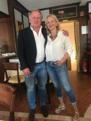 Andrea Brehme ... sein Torschuß machte Deutschland 1990 zum Weltmeister. Und er ist Peps Freund.