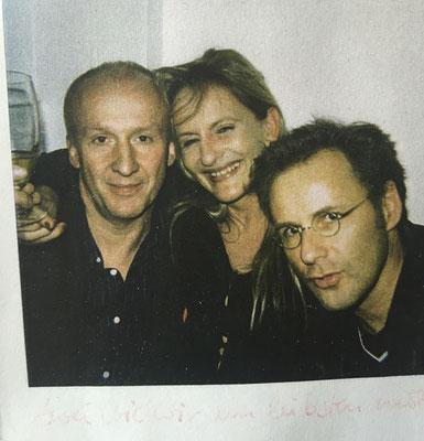 Ein Foto aus New York: Reinhold Beckmann und sein damaliger Redakteur Dr. Matthias Franck