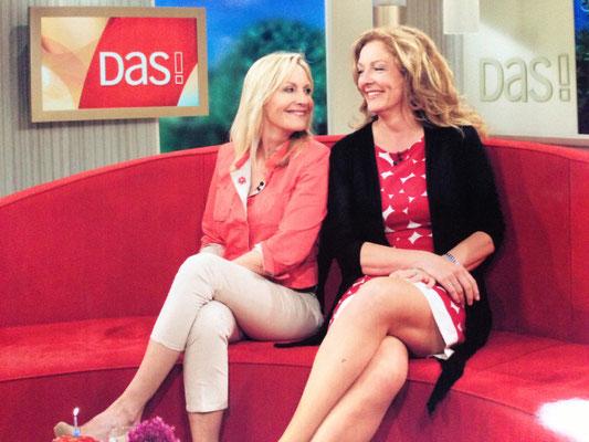 """Mal wieder mit Freude auf dem """"Roten Sofa"""" bei DAS/NDR. Diesmal mit Bettina Tietjen."""