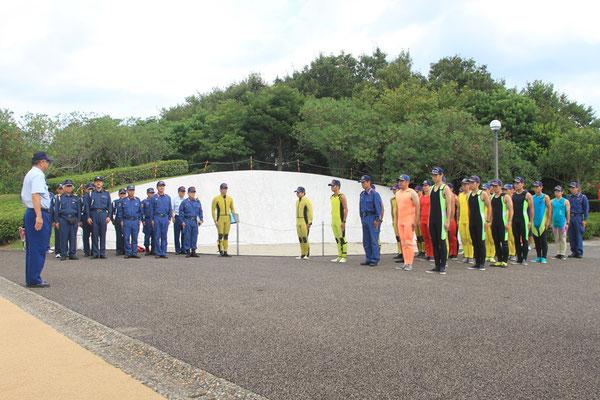 広域消防本部との合同訓練