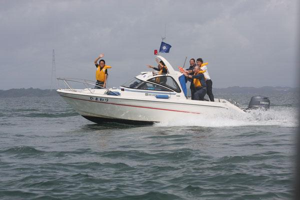八代地区海上航海訓練