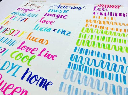 El arte de pintar palabras