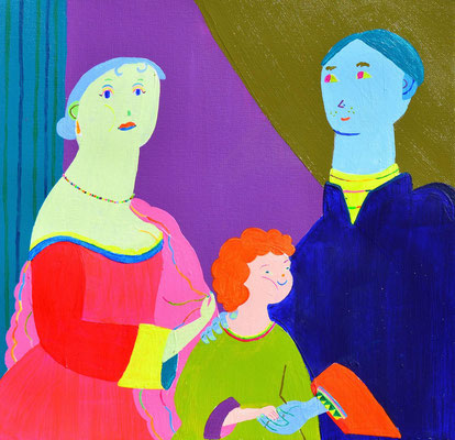 Mary Beale y familia