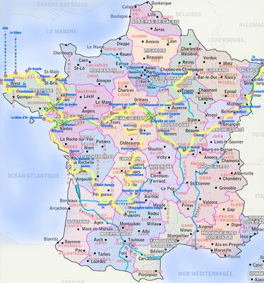 le Tour de France personnel 2016 de Jürgen Caspers, 5007 km, 258 Fahrstunden, 61 Tage