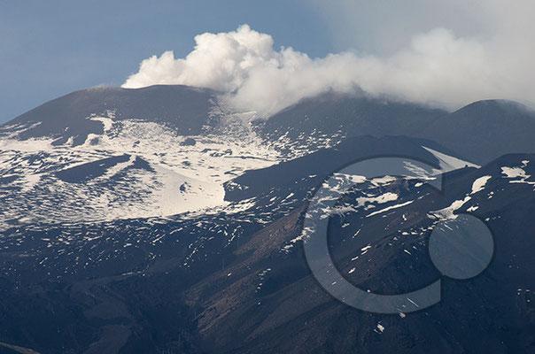 Blick vom Monte Rosa auf den Ätna