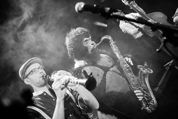 Gadjo Radio Release, Fabrik - Foto: Mathias Hainke
