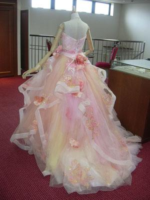 岐阜 美濃加茂 ウェディングドレスレンタル 佐々木希ドレス