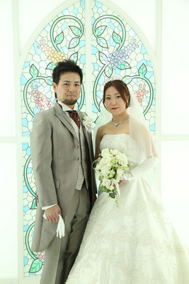 結婚式写真 スタジオウェディング 前撮り 岐阜 美濃加茂 ブライダルサカエ