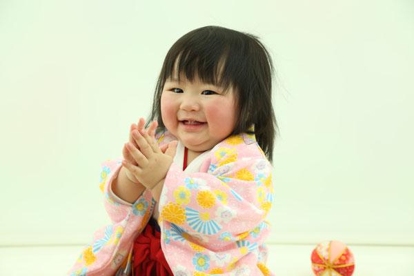 子供 誕生日撮影 バースデーフォト ベビーフォト 可児 美濃加茂 写真館 ブライダルサカエ