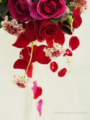 ウェディングブーケ FlowerDesign Annabelle